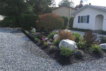 Landscape design, front yard