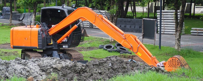 Excavation and landscape construction in the Okanagan.