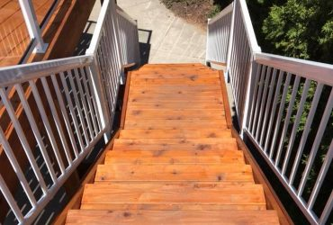 Deck & Stairs Install (1)