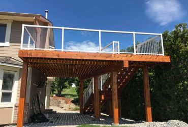 Deck & Stairs Install (3)